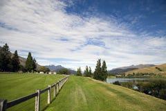 Lake Hayes New Zealand. South Island Reflection Royalty Free Stock Photos