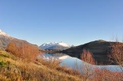 Lake Hayes at New Zealand Royalty Free Stock Photos