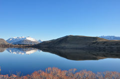 Lake Hayes at New Zealand Stock Photography