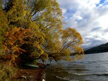 Lake Hayes Otago NZ (16) Stock Image