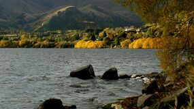 Lake Hayes Otago NZ (1) Royalty Free Stock Photos