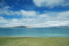 Lake of heaven. This is the wrong Chinese Tibet lake scenery Stock Image