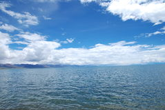 Lake of heaven. This is the wrong Chinese Tibet lake scenery Stock Photography