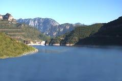 Lake. A lake in Henan Province, China Stock Image
