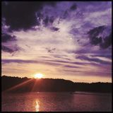 Lake Hertwell, Georgia Stock Photography
