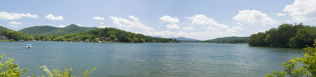 Lake Hiawassee pano Stock Photography