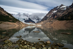 Lake in the high mountains. Royalty Free Stock Photos