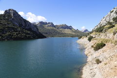 Lake in the high mountains Royalty Free Stock Photo