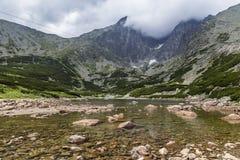 Lake in the High Tatra Stock Image