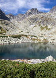 Lake in High Tatras, Slovakia Royalty Free Stock Images
