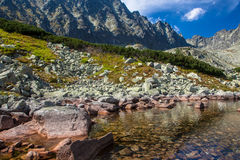 Lake in High Tatras, Slovakia Royalty Free Stock Photo