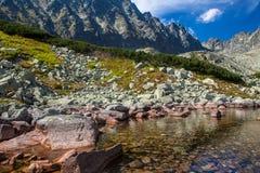 Lake in High Tatras, Slovakia Royalty Free Stock Photo