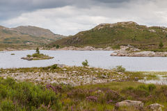 Lake in the Highlands Royalty Free Stock Images