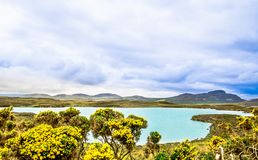Lake in the Higlands of Scotland royalty free stock photo