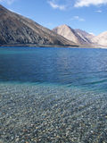 Lake in Himalaya mountains Royalty Free Stock Photos
