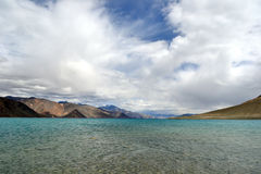 Lake in Himalayan mountains Royalty Free Stock Image