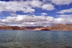 Lake in Himalayan mountains Royalty Free Stock Photo
