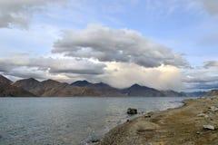 Lake in Himalayan mountains Royalty Free Stock Image
