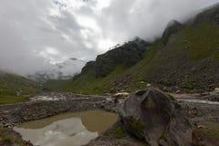 Lake in the Himalayas Royalty Free Stock Image