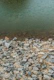 The lake in Hinoki land. Thailand royalty free stock photo