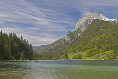 Lake Hintersee Royalty Free Stock Photography
