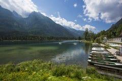 Lake Hintersee Royalty Free Stock Photography
