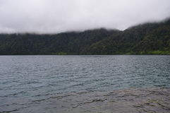 Lake holon is love Stock Images