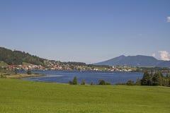 Lake Hopfensee Stock Images