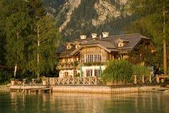 Lake house royalty free stock photography