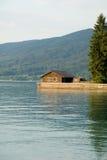 Lake house Stock Photography