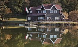 Lake House Royalty Free Stock Image