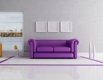 Lake house interior Stock Photography