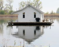 Lake House Stock Images
