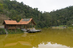 Lake house in Teresopolis Stock Photo