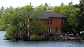 Lake Houses, Summer Homes, Shorefronts stock video