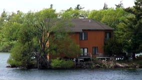 Lake Houses, Summer Homes, Shorefronts stock video