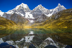 Lake in the Huayhuash Royalty Free Stock Photography