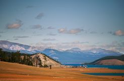 Lake Hubsugul Royalty Free Stock Image