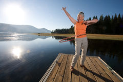 Lake Hula Royalty Free Stock Images