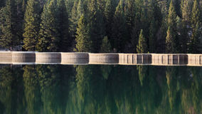 Lake Hume Dam. Beautiful scene at Lake Hume dam in Sequoia and Kings Canyon National Park, California Stock Photography