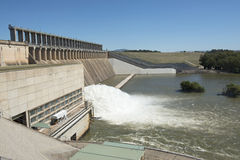 Lake Hume dam Stock Image