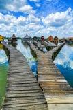 Lake in Hungary Royalty Free Stock Photo