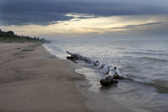 Lake Huron Beach Stock Photography