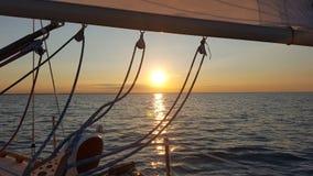 Lake Huron segling Royaltyfri Fotografi