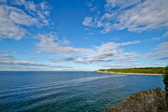 Lake Huron shore Royalty Free Stock Image
