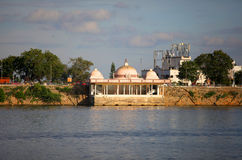 Lake Hussain sagar Stock Photos