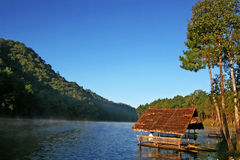 The Lake Hut Royalty Free Stock Image