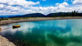 Lake i alpsna Royaltyfri Foto