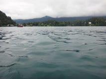Lake i berg Royaltyfri Foto