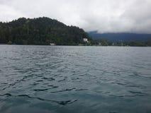 Lake i berg Royaltyfri Fotografi